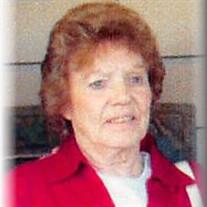 """Mrs. Jeanette """"Betty"""" (Hurst) Chism"""