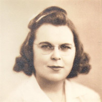 Mrs. Violette Isabella Babik (nee: Zahn)