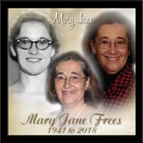 Mrs. Mary Jane Frees
