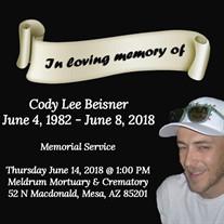 Cody Lee Beisner