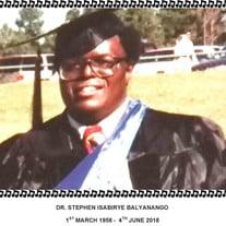 Stephen B Isabirye
