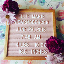 Ellie Marie Hearnsberger of Michie, TN