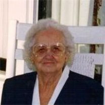 Mrs. Bertha Mae Dangar