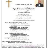 Rev. Desmond  Hoffmeister