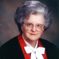 Rev. Beatrice Weaver McConnell
