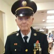Ssgt Edward Pentz, US Army Ret.