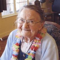 Nellie Gertrude Lindberg