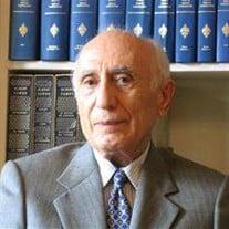 Dr. Ehsan O. Yarshater