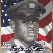 Mr. Proffessor Williams