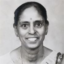 Mrs. Narayaniammal Sivasankaran