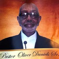 Pastor Oliver Daniels Sr