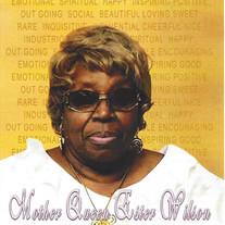 Mother Queen Esther Wilson