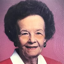Mrs. Ledgie Holloway Alley