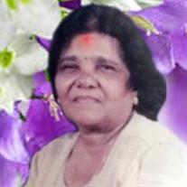 "Mrs.  Aroye  ""Gladys Bangaroo"" Mariapen"