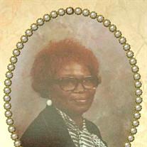 Mrs. Annie Jane Vickers