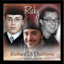 "Richard D. ""Ricky"" Daddario"