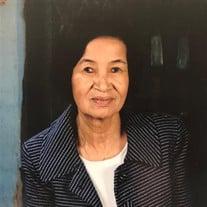 Mrs. Tho Chhay