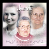 Mrs. M. Jannett Daywalt