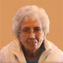 Mary Evelyn Barrow