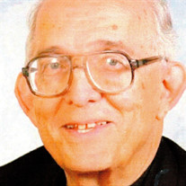 Rev. Joseph P. Sanders S.J.