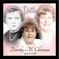 "Dorothy Marie ""Dottie Chrisman"