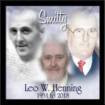 """Leo W. """"Smitty"""" Henning"""