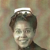 Mrs.  Flossie  Mavis Savage Dunston