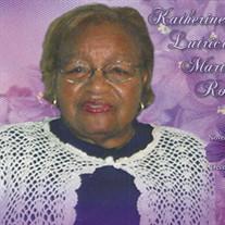 Mrs. Katherine L. Robinson