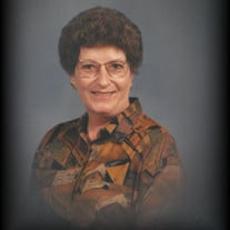 June Evelyn Isbell Hurst of Woodville, Tennessee