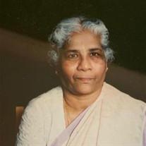 Mrs. Kamaladevi Ratnasabapathy