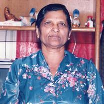 Mrs. Sitama Raju