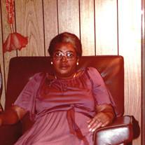 Mrs. Fannie Dorothy Taylor Kendrick