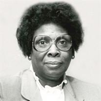 Mrs. Lee Elsenia Porterfield