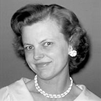 Mrs. Elizabeth Louise Jacobson