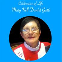Mary Nell Daniel GATTI