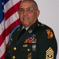 1Sgt Oscar F. Cavazos, U.S. Army (Ret.)