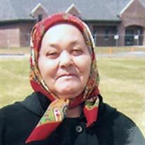 Mrs. Anna (Bercuta) Gergi