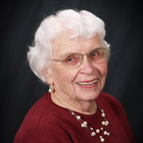 Mrs. Eunice Maxine Dickey Anvik
