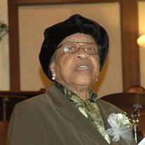 Mrs. Georgia Mae Hunter
