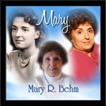 Mary R. (Tria) Behm