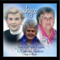 Joyce Marie Cecilia (Kincaid) Gurkovic
