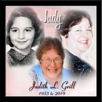 """Judith """"Judy"""" L. (Carfagno) Grill"""