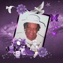Mrs. Mary Alice Amos