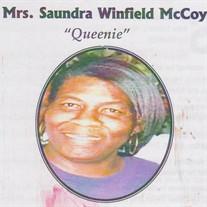 """Saundra """"Queen"""" Winfield McCoy"""