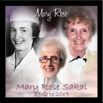 Mary Rose (McGuigan) Sakal