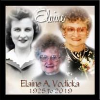 Elaine A. (Turner) Vodicka
