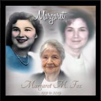 Margaret M. (Cockerham) Fox