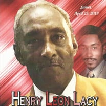 Henry Leon Lacy