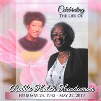 Mrs. Bobbie Helen Hardamon
