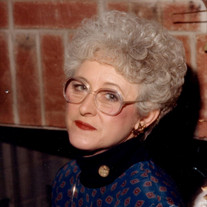 Mrs. Myrna Lorraine Pewitt Burks Woods